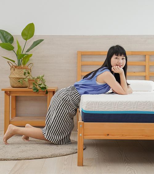 雙人厚床墊24公分