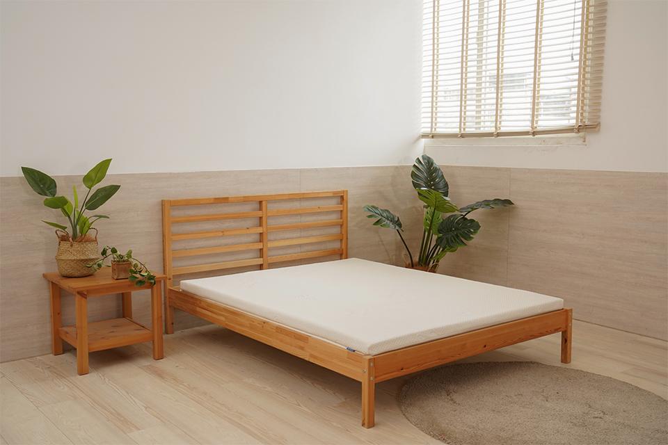 5公分透氣水洗雙人薄床墊